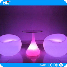 Led bar table!!! Color changed decoration light rechargeable lamp modern white coffee tables led bar side table