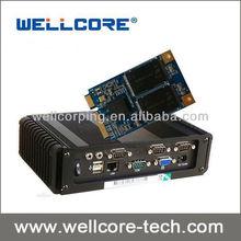 Wellcore W10 Series 50mm msata ssd mlc flash 64 gb ssd drive