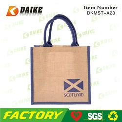 Reusable Plain Jute Wine Tote Bag DKMST-A23