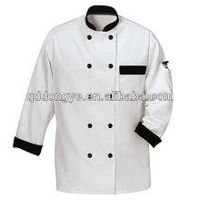Two tone fashion chef uniform jackets