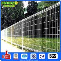 plastic coated double circle fence