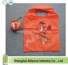 Cartoon Reusable Tropic Fish Animal Shape Shopping Bag