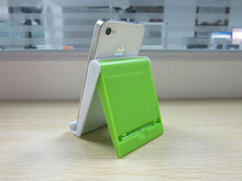 2013 fty supply Top Popular plastic mobile phone holder for promotional items