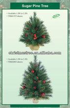 Artificial table mini christmas tree decoration