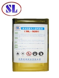 SL-920 transparent paint for roofing titles