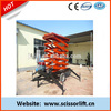 Mobile hydraulic mini lift/Scissor mini lift platform