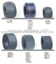tubeless tire for go kart