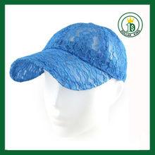 2013 fashion lace hat lace baseball cap lace headwear