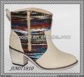 2013 mais novo estilo de moda senhora sapato de salto baixo botas ankle boot