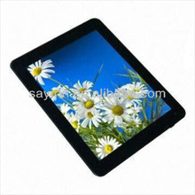 Allwinner A10 CPU 8inch android 4.0 zepad tablet