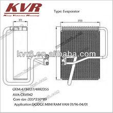 Auto air cooler evaporator for DODGE MINI RAM VAN 01/96-04/01