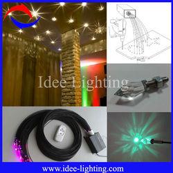 multi color led fiber optic ceiling light kit