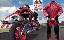 racing motorcycle jacket/leather motorcycle suits/men's motorbike suits