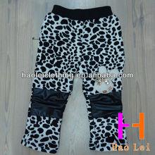 child clothing kids pants soft fashion pants winter girl pants