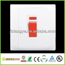 1 gang modern light switches (LY1-3-45A(HB))