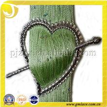resin/plastic curtain buckle/curtain clip with diamond,heart shape