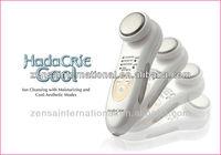 """HITACHI """"Hada Crie"""" Cool CM-N1000-W Facial Cleanser Massager"""