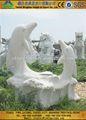 La technologie de la pierre naturelle d'africaines statues sculptures sur bois