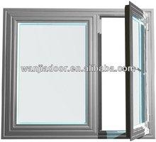 cheap aluminum windows/new design aluminum window/foshan wanjia brand