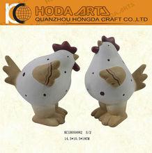 "6.5"" Garden Decorative Fat Ceramic Chicken 2013 2014 hot selling"