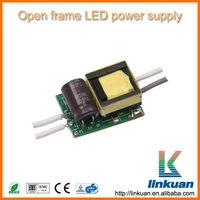 indoor 12v 10w waterproof electronic led driver constant current open frame LED lighting driver AD03CV2.0
