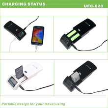 hot sale high efficiency lcd screen for canon camera battery charger with 5v usb port