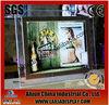 Black frame LED crystal magnetic light box