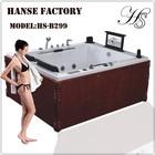 HS-B299 1.9m 2 person sex massage bath tub with sex video/ dvd