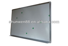 magnetic ceramic whiteboard for school or office