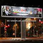 Unipole Outdoor Advertising prisma Trivision Billboard