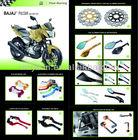 BAJAJ Pulsar 180 200 220 motorcycle parts CNC mirrior Handlebar Clamp Brake Clutch Levers