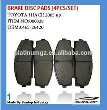 toyota hiace KDH 200 brake disc pads 04465-26420