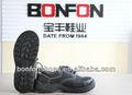 Couro genuíno de aço toe baixo sapatos de segurança de corte usado botas de trabalho insolentes botas de trabalho calçado de segurança