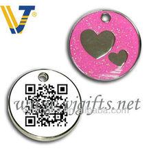 Wholesale Scannable qr code pet tag/pet id tag