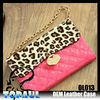 Customized mobile phone case leather handles for purses
