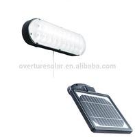 2.5w high brightness outdoor wall lamps JY-0020B-W-12W solar wall lamps with two brightness setting