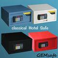 Digital con seguro de bloqueo/hotel habitación seguro seguro/color: negro/espesor: la puerta 5mm, cuerpo 2mm/h230*w420*d360mm para el ordenador portátil