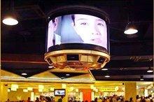 P10 indoor 360 degree flexible LED display