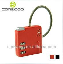 TSA Metal Digital Code Resettable Combination Luggage padlock
