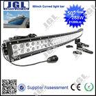 50'' 288w cree led curved light bar 4x4 , off road led lightbar,10w cree offroad led light bar ,