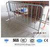 hot dipped galvanized Crowd Control Barrier panel size1.1x2.5m with flat feet