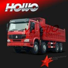 sinotruck engine dump truck