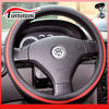"2014 NEW Design PU steering wheel cover 14""-16"" P-8"