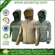 man's 100% nylon super light & thin outdoor Anti-UV jacket