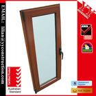 New Style Aluminium Tilt&Turn Window with Top Grade Material Wood Grain Finish Timber Look