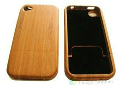 High quality natural enviromental protect your cell bamboo case