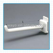 ABS Material Cardboard Display Plastic Hook