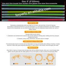 GLS-052 8 inches glow stick Promotional glow sticks