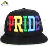Custom embroidery snapback style supplier golf flat cap