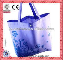 graceful purple non woven bag non woven shopping bag